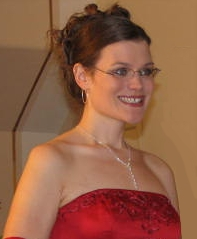 Matron of Honor at my sister's wedding - Smiling with teeth